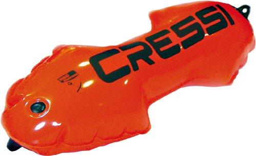 Cressi Mini Torpedo Orange - Boya de Amarre para Barcos, Color Naranja