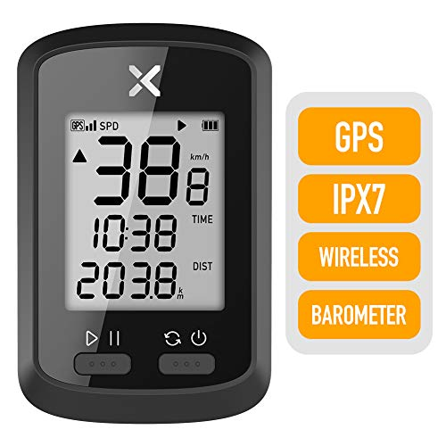 XOSS G GPS Cycling Computer Wireless Bike Speedometer Odometer Cycling Tracker Waterproof Road Bike MTB Bicycle Bluetooth (G)