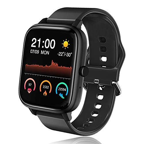 Bluetooth Smartwatch Fitness Tracker Uomo Donna, Orologio intelligente