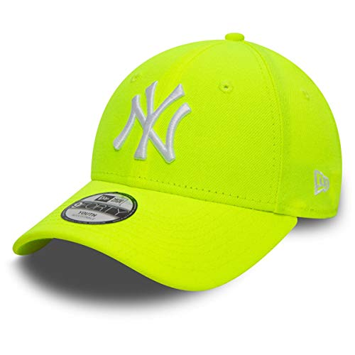 New Era 9Forty Kinder Cap - New York Yankees neon gelb Child
