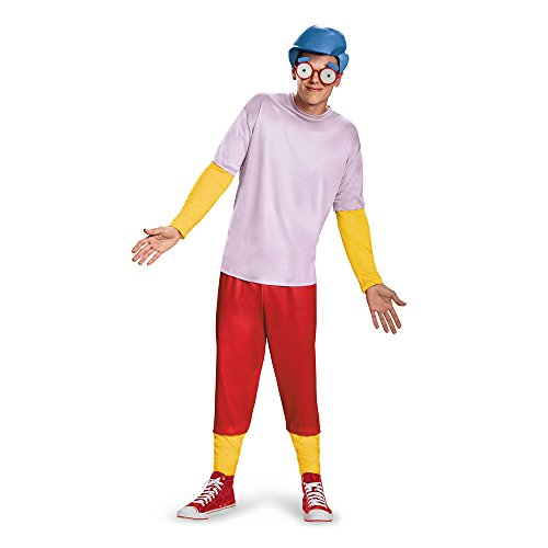 Disfraz de Milhouse Los Simpson para Hombre