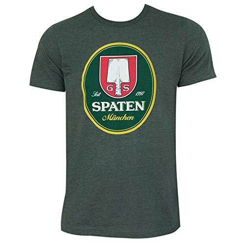 SPATEN Logo Bosque Camiseta X-Large verde