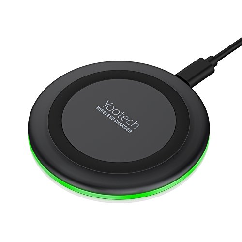 Yootech Wireless Charger,Qi-Certified 10W Max Fast Wireless Charging Pad Compatible with iPhone...