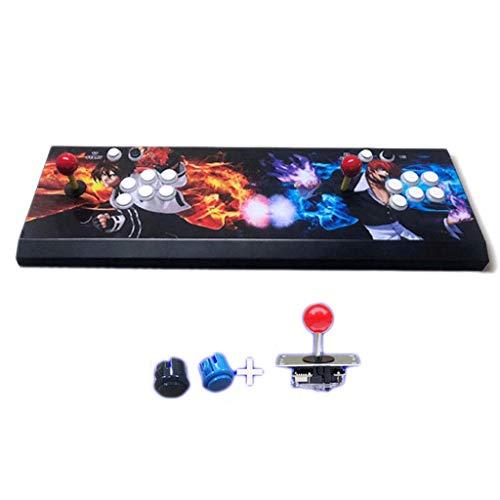 GCX- 3D de alta luz de la luna 12 Versión [4 Core All-hierro Modelo] Moonlight caja del tesoro de la máquina de juego Inicio Arcade doble Fighting Machine estilo nostálgico Rocker Feliz