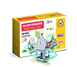 Magformers Animal Jumble 40 Piece Set 40p, color grey, blue, yellow, red (702014) , color/modelo surtido