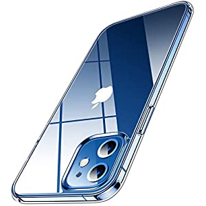 Humixx 2021最新版 For iPhone12 mini ケース 高透明 薄型 軽量 10倍黄変防止 耐衝撃 放熱性が抜群 滑り止め 持ちやすい Magsafe対応 アイフォン12ミニ用カバー(クリア)