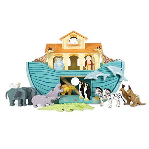 Le Toy Van - Pretend Play Educational Wooden Ark Role Play Toy | Suitable For A Boy Or A Girl 3 Years Old Or Older