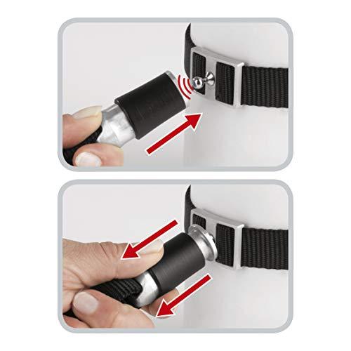 GOLEYGO Hundeleine & Halsband, schwarz, Größe S (29-43 cm Halsumfang) | innovatives Magnet-klick-System mit Kugelstift, unter Vollast lösbar | für Hunde bis max. 40 kg | Leinenlänge 120-200 cm - 3