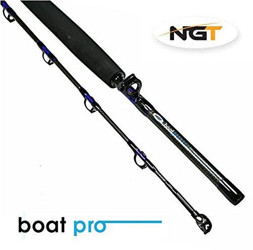 NGT Boat Pro Bootrute Bootangel Hochseerute 25lbs 1,80 m 2-Teilig bis zu 600g Wurfgewicht