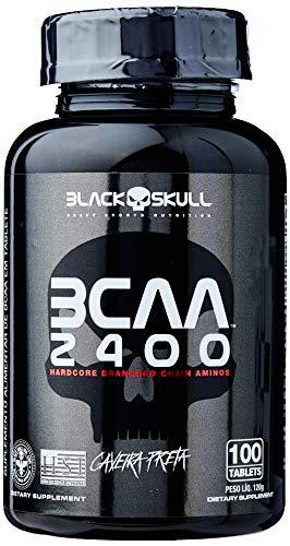 Bcaa 2400 - 100 Tabletes - Black Skull, Black Skull