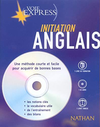 Anglais : Initiation (2 livres + 1 CD audio)