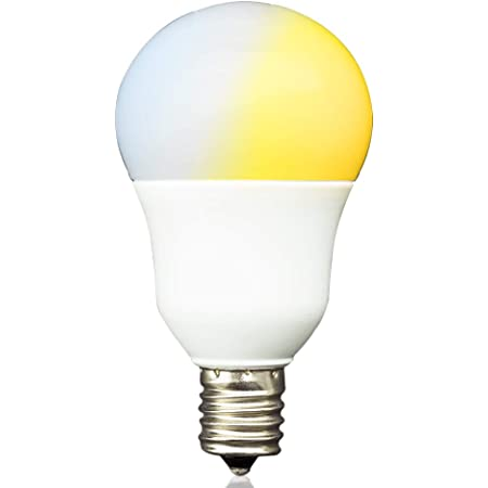 共同照明 LED電球 E17 40w形 調光 調色(GT-B-5W-CT-2)調光式 昼光色 電球色 led 5w 無線式リモコン操作 遠隔操作 led照明(リモコン別売り)