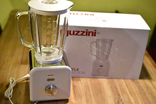 Guzzini Kitchen Active Design Frullatore 19 x 17,5 x H 39 cm, Bianco