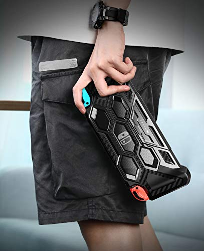 Mumba Protective Case for Nintendo Switch, [Battle Series] Heavy Duty...
