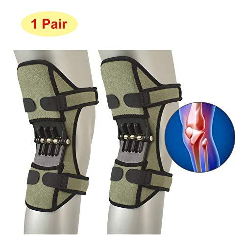 TYH Knee Support Booster, Potente Forza di richiamo della Molla, Cuscinetti di decompressione di Protezione congiunta, Protettore stabilizzatore Patella per Alpinismo Deep Care,Blue