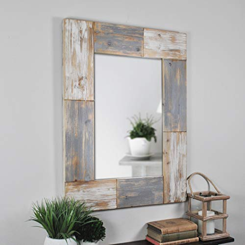 FirsTime & Co. Mason Planks Wall Mirror, 31.5