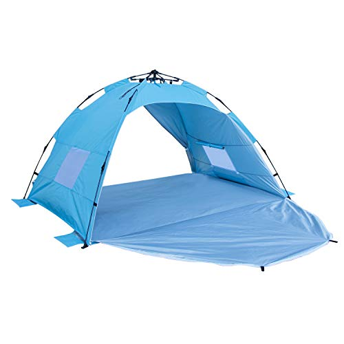 Sun-shelter Beach Tent Camping Tent with UV Protection Beach Shade Automatic Tent 2 or 3 Person for Outdoor Activities