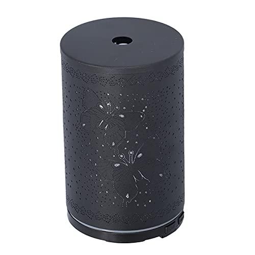 Difusor, difusor de aceite esencial de 100 ml, difusor de aroma LED, difusor de hogar con patrón de mariposas para oficina, fiesta en casa