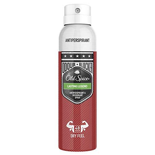 Old Spice Lasting Legend Spray Antitranspirante Y Desodorante 150 ml