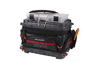 Plano PLAB36700 KVD Signature Series 3600 Size Tackle Bag, Black/Grey/Red, Premium Tackle Storage