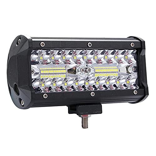 Faroles 400W LED 7 pulgadas 40000lm de trabajo Lámpara de conducción DC 9-30V 6000K Lámpara de luz de trabajo para SUV ATV Tractor Tractor Tractor High Bright Bright ( Color : 1PCS )