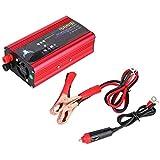 Inversor de Corriente 1500W para Coche,Qiilu Transformador De 12v A 220v Convertidor Onda Pura sinusoidal con Puertos USB De 3,1