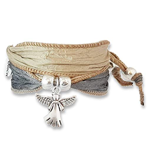 Anisch de la Cara Mujeres Pulsera Nature Grey - Little Angel - Arte no 90111-d