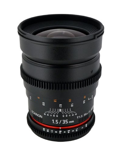 Rokinon CV35-NEX 35mm t/1.5 Aspherical Wide Angle...