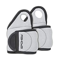 Weight cuffs set of 2 0,5kg 1kg 1,5kg | Spokey | Barrel weights Wrist weights with thumb loop COM FORM IV (2 x 0,5 kg)
