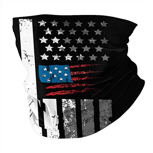 Medsforu Staubdichte Gesichtsschalabdeckung Abdeckung Trump 2020 Kampagne Vintage Bandanas UV-Schutzhalsmanschette für den Außenbereich