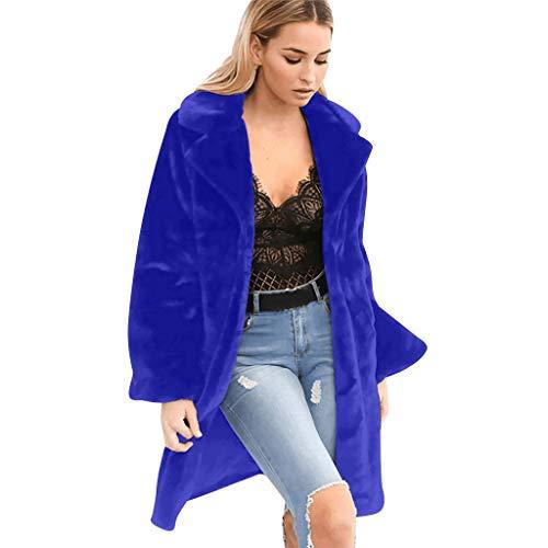 Snakell Femmes Manteaux De Vison d'hiver Nouveau Veste en Fausse Fourrure Chaud Épais Survêtement Veste Femmes Couleur Unie Grande Taille Chaude Longue Blouse Manteau Outwear
