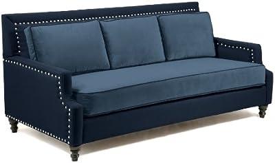 Amazon.com: Loni M. Designs Madrid Sofa, Light Brown ...