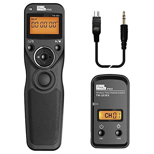Pixel TW-283 DC2 Wireless Telecomando Comando a distanza Cavo di controllo senza fili Nikon fotocamera