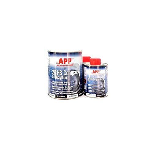 APP 2K HS COMPACT 5:1 Füller grau + Härter + Verdünnung 1,25 Liter 020444SV
