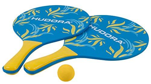 Hudora 2265773Set di 2Racchette + Palla, Multicolore