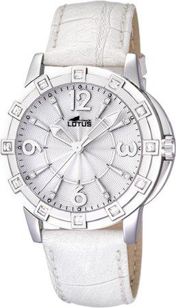 Lotus Glee Reloj para Mujer Analógico de Cuarzo con Brazalete de Piel de Vaca L15745/1