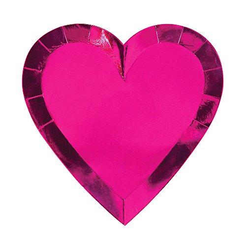Meri Meri - Platos con forma de corazón