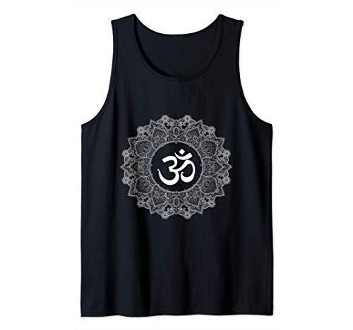 Símbolo budista: Om dentro de mandala hindú Camiseta sin Mangas