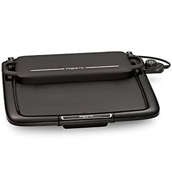 Presto 07023 Cool-Touch Electric Griddle/Warmer Plus 14  x 15  Black
