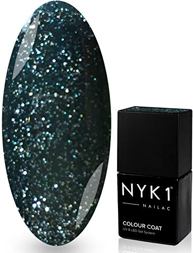 NYK1 Nailac – HOLLY – Professionnel Shellac Vernis À Ongles Vernis À Ongles Gel UV Et LED – Séchage Rapide – Soak Off Vernis En Gel 10 ml – Plus De 100 Shellac Vernis À Ongles Couleurs Au Choix