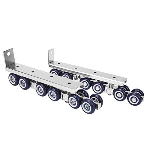 Roue accrochante durable de rail de porte de roues pour la porte coulissante d'intérieur