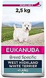 EUKANUBA Breed Specific Alimento seco para perros west highland white terrier adultos,alimento para perros óptimamente adaptado a la raza 2.5 kg