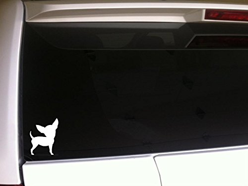 Chihuahua Silhouette 5.5' Vinyl Sticker DecalG75 Animals Pets K9 Dogs Puppies Love Canine