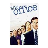 Nbqwdd Druckt die Office-TV-Serie Comedy Cast Steve Carell