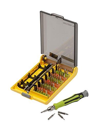 Slabo Universal Werkzeugset 45-teilig für Smartphone/Handy/Laptop/PC/iPhone/MacBook Schraubendreher Set Repair Tool Kit