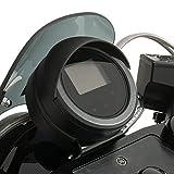 Genuine Yamaha Accessories Speedometer Visor (Black) for 14-18 Yamaha Bolt