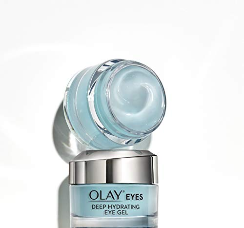Olay Eyes Deep Hydrating Eye Gel für müde, dehydrierte Haut mit Hyaluronsäure, 15 ml