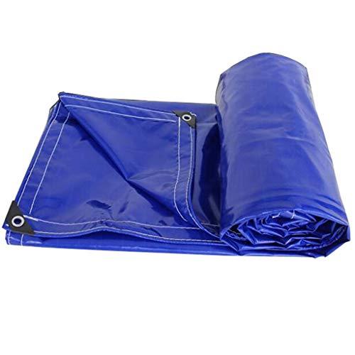 ZFF Couverture de bâche imperméable bleue 550g / m² très robuste (Size : 3x6m)