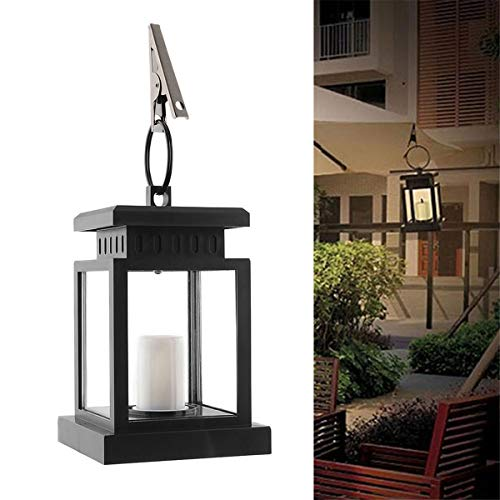 Zonne-energie LED Kaars Tafel Lantaarn Hanglamp Outdoor Tuin Decor