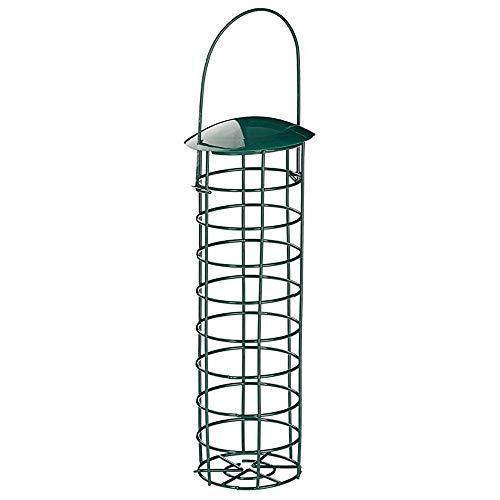 GGHKDD Alimentador de Bolas de Grasa para Pájaros, Caja Dispensadora de Alimentos para Aves Silvestres, Caja de Rejilla, para Bola de Grasa de Bola de Grasa de Sebo de Rosquilla